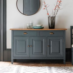 The Atlantic Sideboard Blue Grey