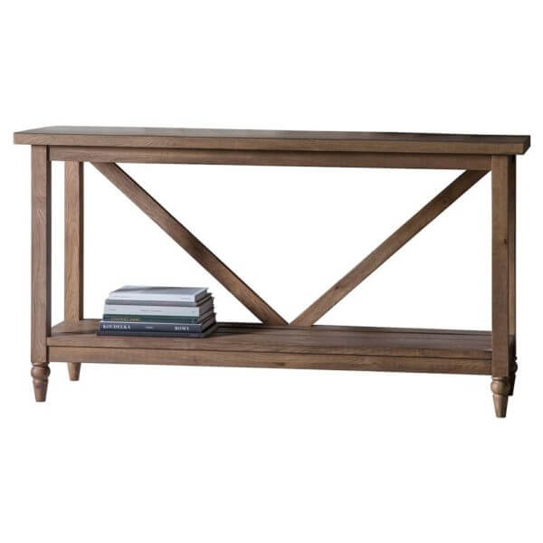 The Rural Trestle Table Smokey Oak