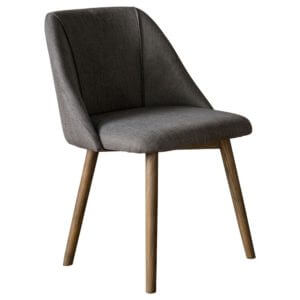 The Ash Dining Chair in Grey (2pk)