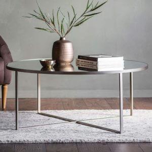 Brennan Coffee Table Silver