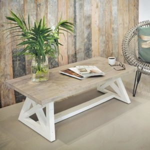 The White and Grey Coffee Table