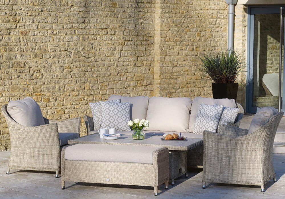 Yellow_shade_garden_furniture_With_Brick_Wall_Background